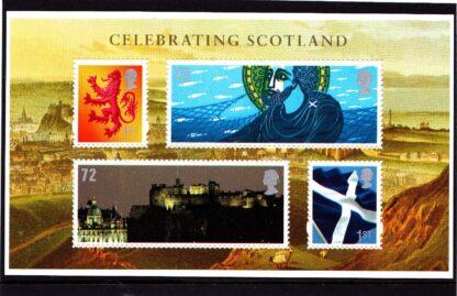 Miniature Sheet MSS153 Scotland