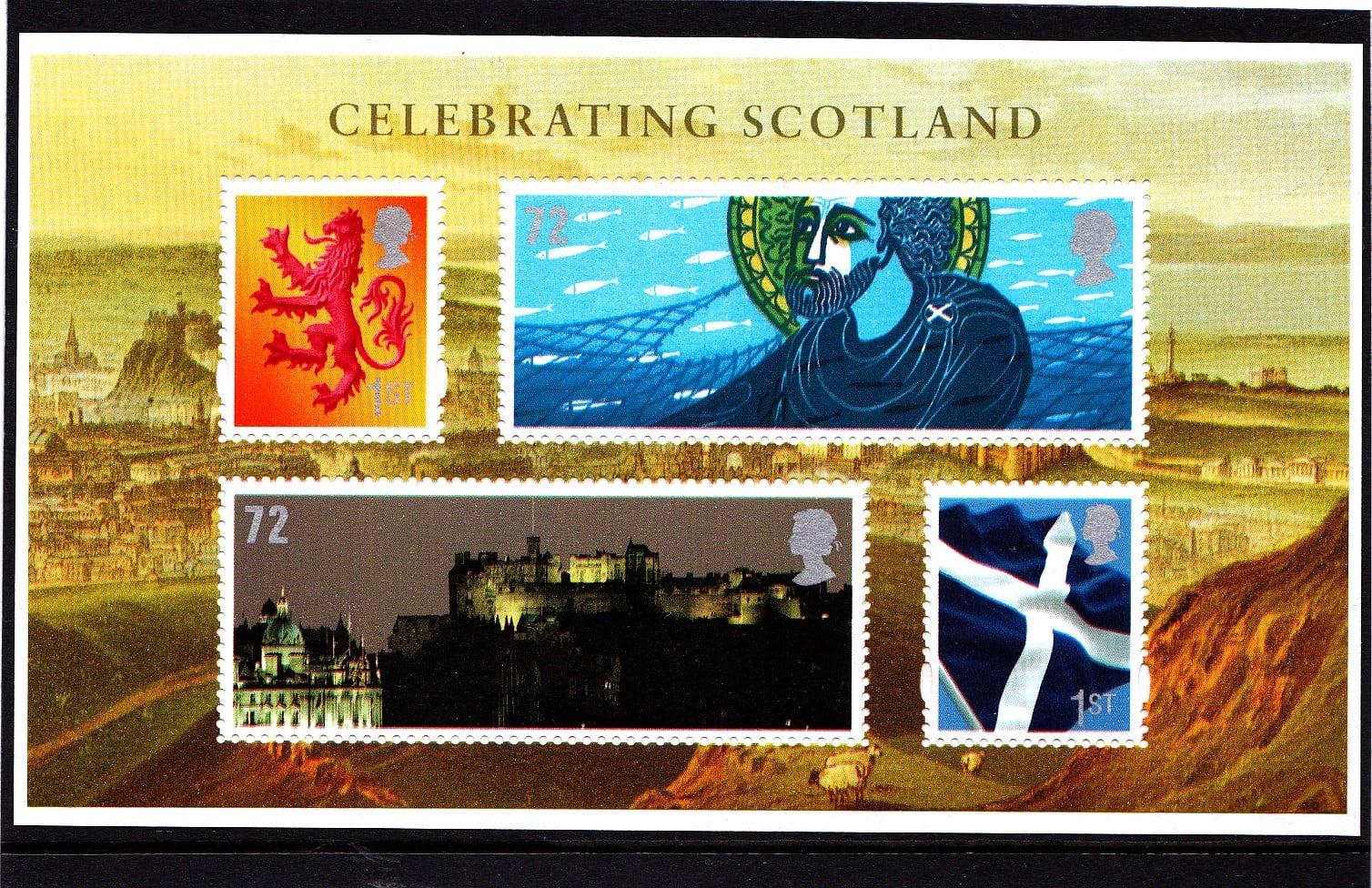 Miniature Sheet MS S153 Scotland.