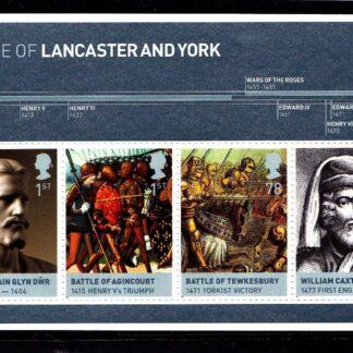 Miniature Sheet MS2818 Lancaster and York.
