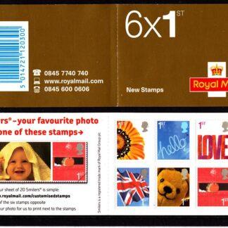 Booklet QA1 Smilers Plain SBB