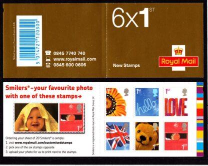 Booklet QAI Plain Smilers Self Adhesive