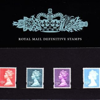 Presentation Pack No 62 Machin Definitives