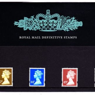 Presentation Pack No 72 Machin Definitives