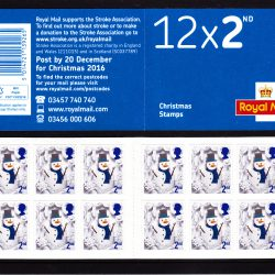 Booklet Christmas LX51 2016 Cylinder 2nd Class