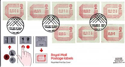 Framas Set of First Day Covers 1984