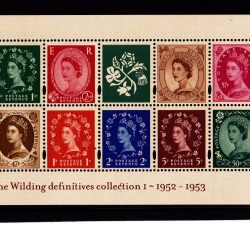 Miniature Sheet MS2326 Wilding Definitives Band Error