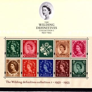 Presentation Pack No 59 The Wilding Definitives