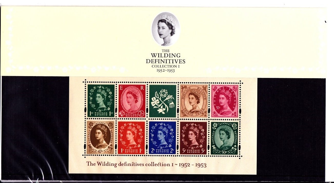 Presentation Pack No 59 The Wilding Definitives Error