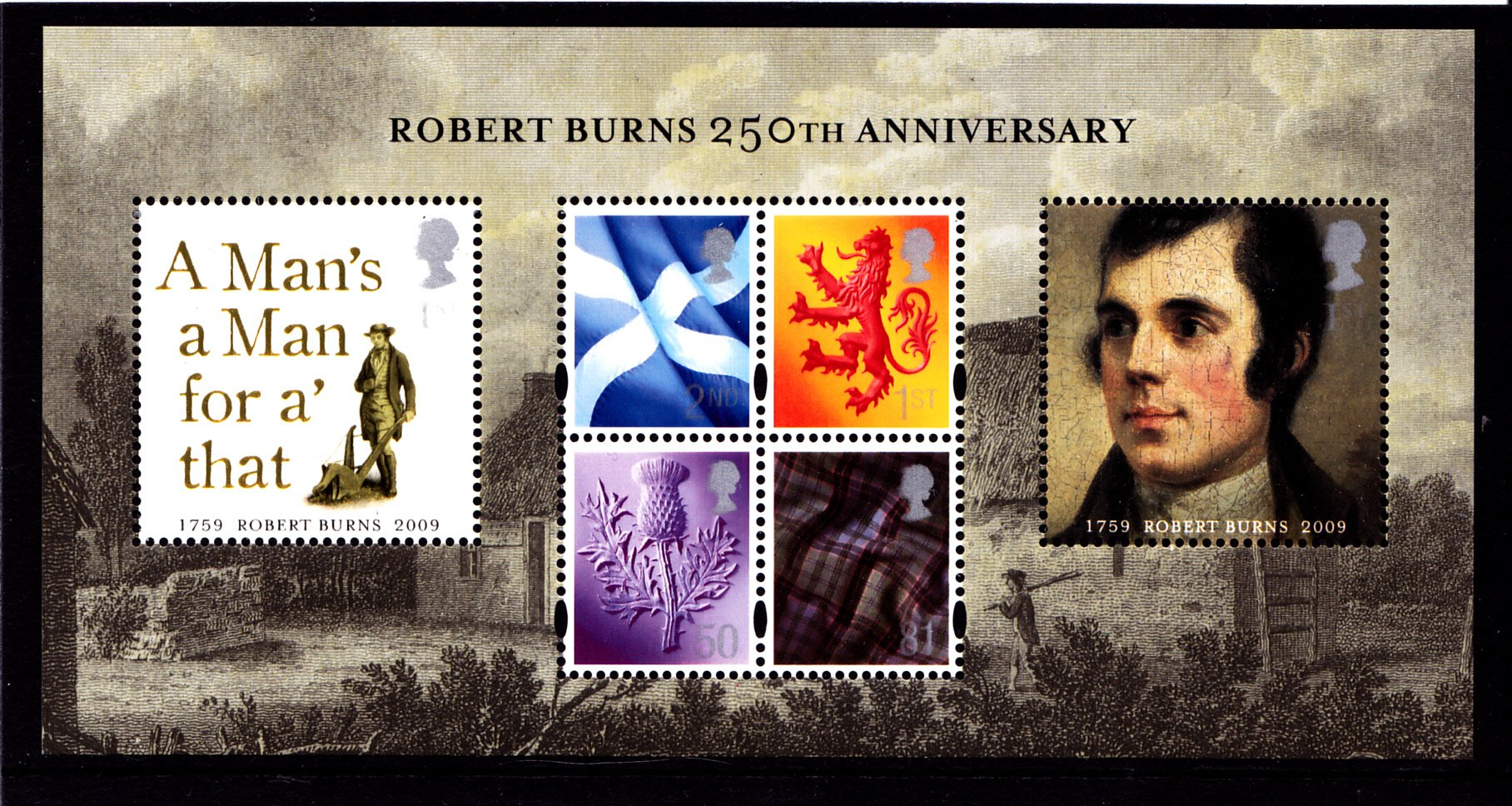 Miniature Sheet MS S157 Scotland