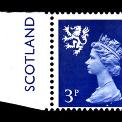 Machin Scotland XS35 3p Single ex Cyl 8 Phos Ribbed Paper