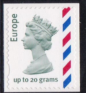 Airmail Machin E8 Guillotined Single