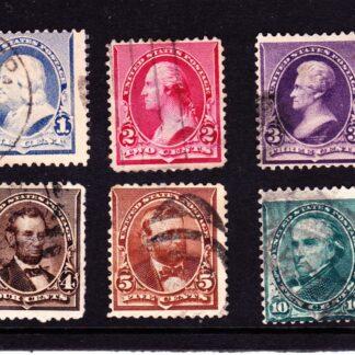 United States of America Presidents 1890