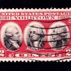 United States 150 anniversary of Yorktown SG 703