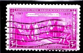 United States 150 anniversary of US Constitution SG 794