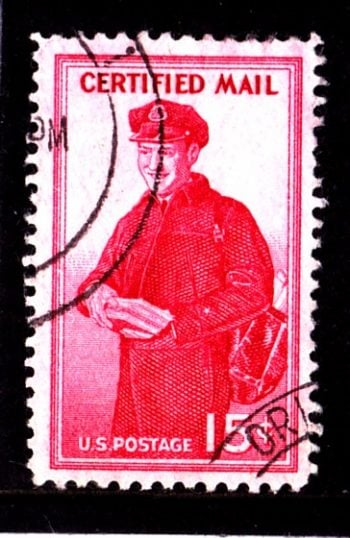 United States of America Postman SG No C1070