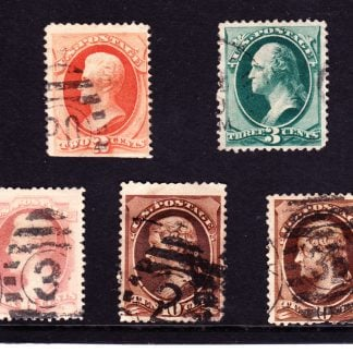 United States of America Presidents 1879