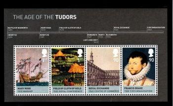 Miniature Sheet MS2930 House of Tudor