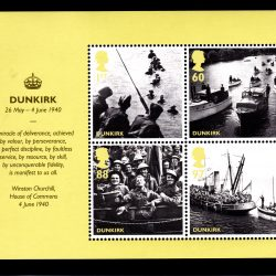 Miniature Sheet MS3086 2010 Evacuation from Dunkirk