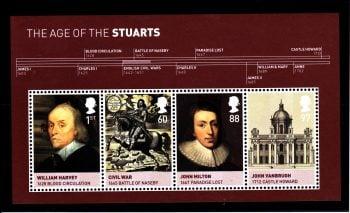 Miniature Sheet MS3094 House of Stuart