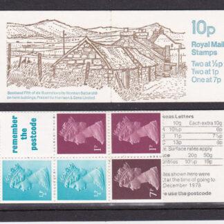 Booklet FA8 Machin 10p Multi Value Scotland
