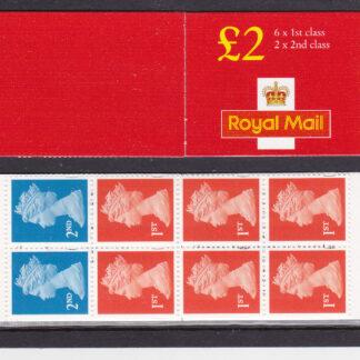 Booklet Plain FW12 Machin £2