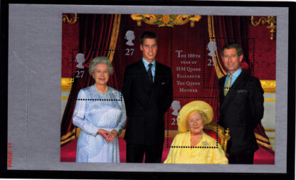 Unstitched Pane WP1334 Queen Mother DX25