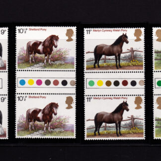 Shire Horses 1978 Traffic Light Gutter Pairs
