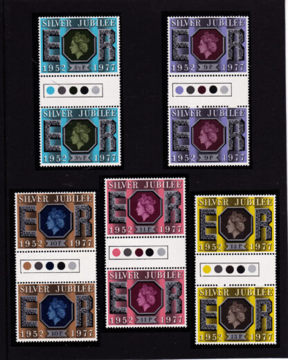 Silver Jubilee 1977 Traffic Light Gutter Pairs