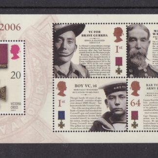 Press Sheet PZ001 Victoria Cross Middle Left B