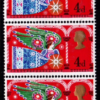 Christmas 1969d Commemorative 812b Single 4d